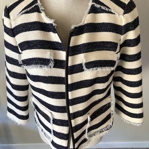 Halogen Striped Blazer NWOT! Fabulous! (8)